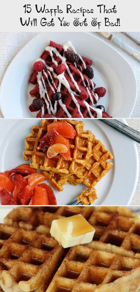 Dig your waffle iron out of the cupboard, today we've got 15 extremely delicious waffle recipes. Super crisp on the outside and light as a feather on the inside. #Waffles #WaffleRecipes #Breakfast #BreakfastRecipes #SuperEasyrecipes #EasyrecipesForFamily #EasyrecipesSnacks #EasyrecipesSummer #EasyrecipesForBeginners