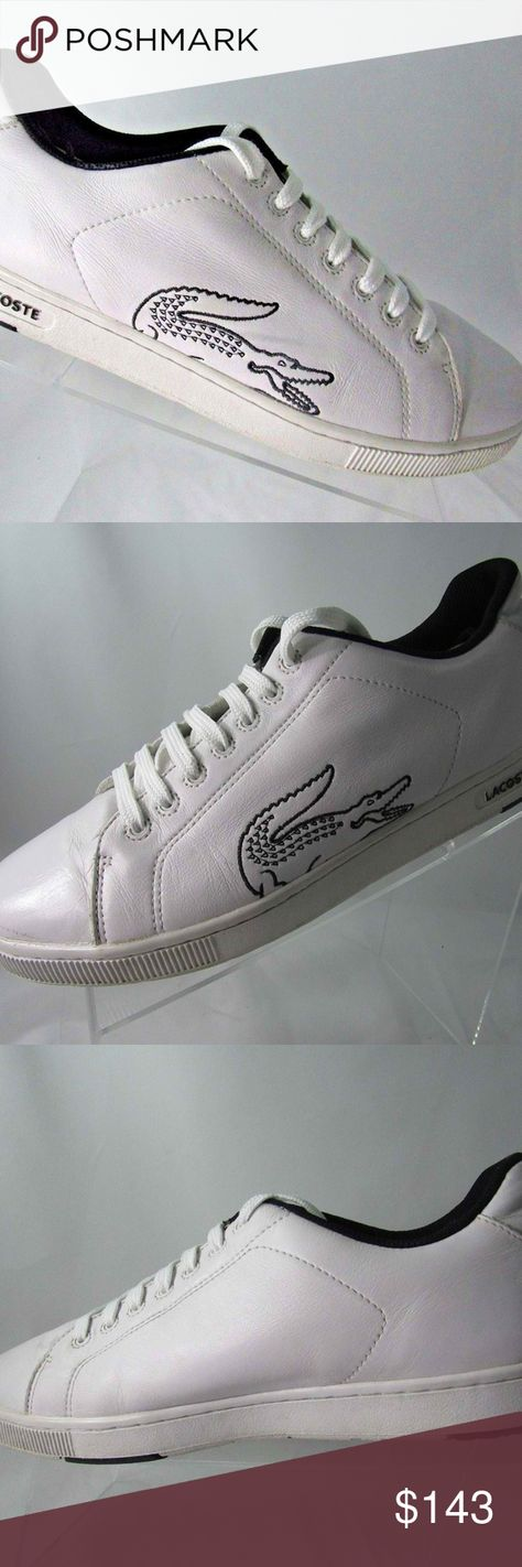 92f5f4e0f45ec6 LACOSTE SPORT Carnaby Rs2 Sz 11 Sneakers Men Shoes LACOSTE SPORT Carnaby  Rs2 Sz 11 White