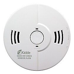 Kidde Fire Night Hawk Combo Smoke Carbon Monoxide Alarm White