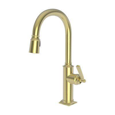 Newport Brass Adams Pull Down Single Handle Kitchen Faucet In 2021 Newport Brass Single Handle Kitchen Faucet Kitchen Faucet