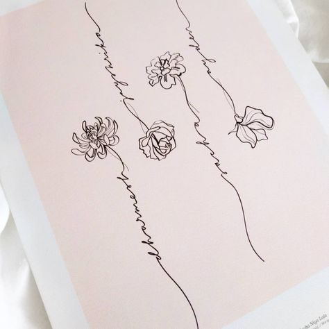 Our Florale Family Prints are so so pretty x .