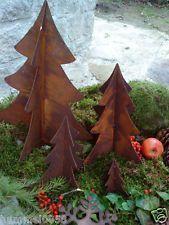 Tannenbaum Edelrost.Edelrost Baum Tannenbaum 3 Dimensional Rost Eisen Weihnachten