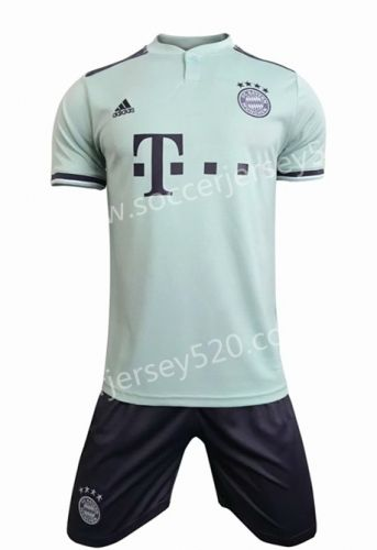0ac5487632e8 2018-19 Bayern München Away Green Soccer Uniform | Quality Soccer