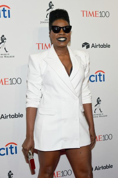 Comedian Leslie Jones attends the 2018 Time 100 Gala.