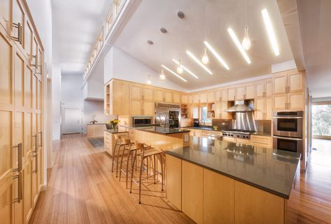 Cool 13 Kitchen With Slanted Ceiling On Sloped