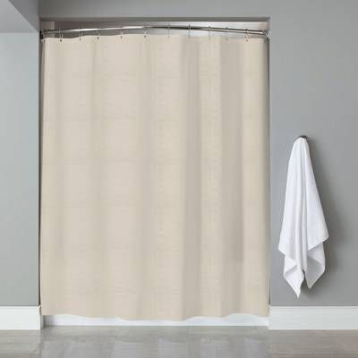 Berrnour Home Venice Clear Heavy Duty 10 Gauge Vinyl Single Shower Curtain Reviews Way Vinyl Shower Curtains Fabric Shower Curtains Striped Shower Curtains