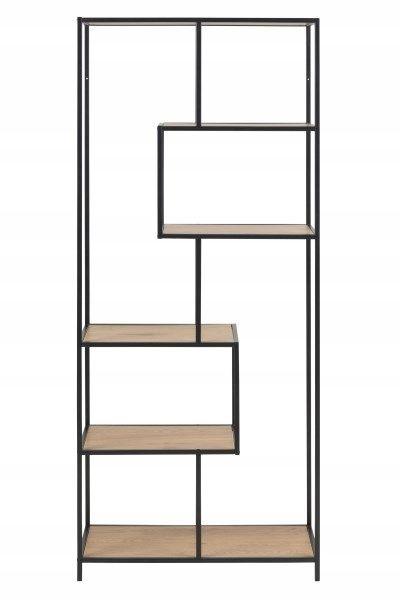 Regal Metalowy Loft Stojacy Wysoki Mieszany 7489588360 Oficjalne Archiwum Allegro Bookcase Metal Bookcase Shelves