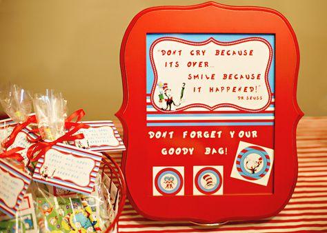 "Photo 1 of 26: Dr. Seuss / Birthday ""Hooray! It's Caden's 2nd Birthday"" | Catch My Party"