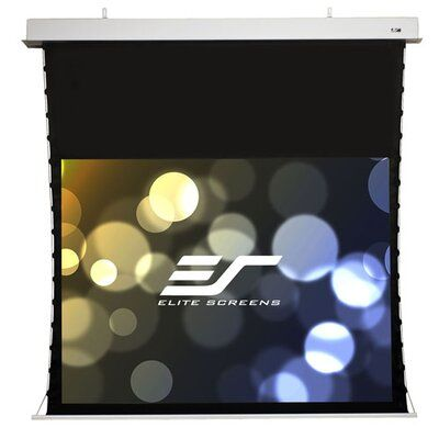 Elite Screens Evanesce White Electric Projection Screen Viewing Area 120 Diagonal 4 3 In 2020 Projection Screen Electric Screen Projector Screen