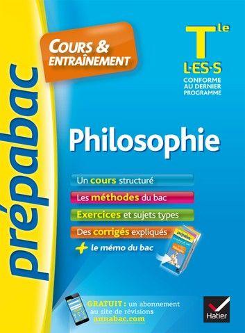 Philosophie Tle L Es S Prepabac Cours Entrainement C Histoire Geographie Geographie Sujet Du Bac