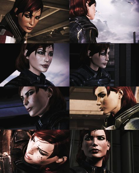 Commander Shepard From Mass Effect 3 I Prefer To Play An