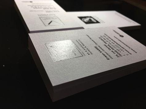 Carte Hotel 400gsm Olin Vernis Selectif Numerique Imprimerie ICB