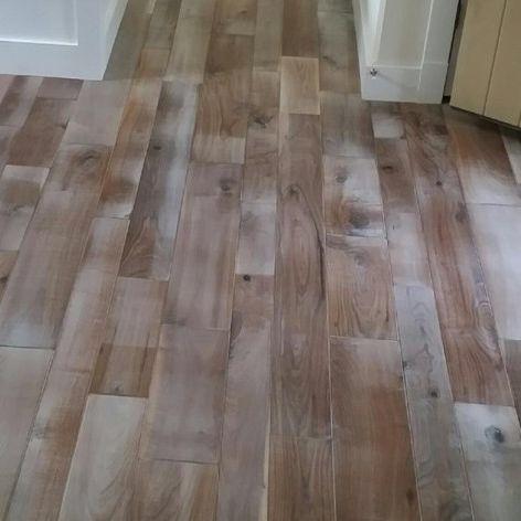 Hudson Bay Random Width Engineered Walnut Hardwood Flooring in Ontario