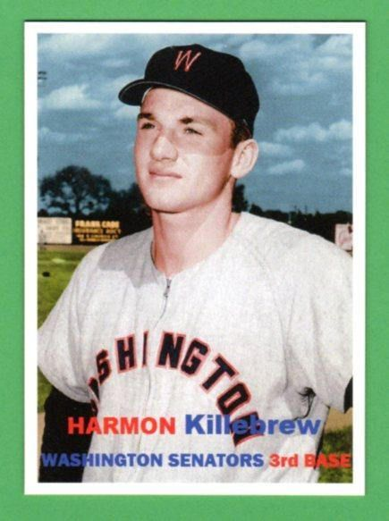 1957 Topps Harmon Killebrew Old Baseball Cards Baseball Cards Sports Cards