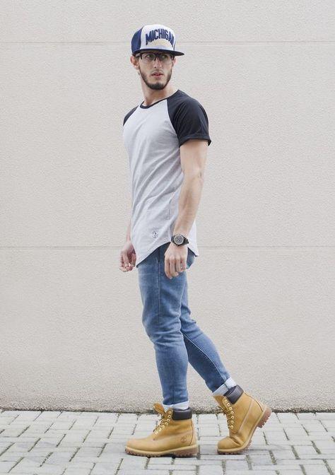 Outfit Men, Fashion Men, Timberland boots rodrigoperek
