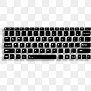 Full Keyboard Key Keyboard Key Keyboard Png And Vector With Transparent Background For Free Download In 2021 Keyboard Keys Keyboard Computer Keyboard