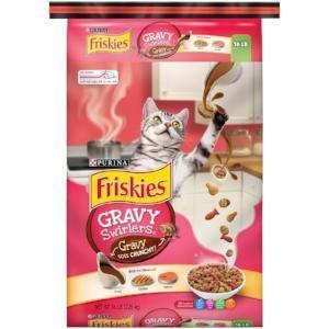Friskies Gravy Swirlers Chicken Salmon Flavor Dry Cat Food Purina Friskies Dry Cat Food Cat Food