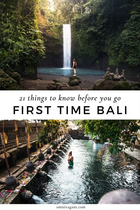The 10 biggest mistakes to avoid for Bali first timers. Make the most of your vacation to the beautiful, exotic, bucket list island of Bali. Bali Travel Guide, Asia Travel, Travel Tips, Travel To Bali, Bali Trip, Travel Books, Travel Journals, Beach Travel, Spain Travel
