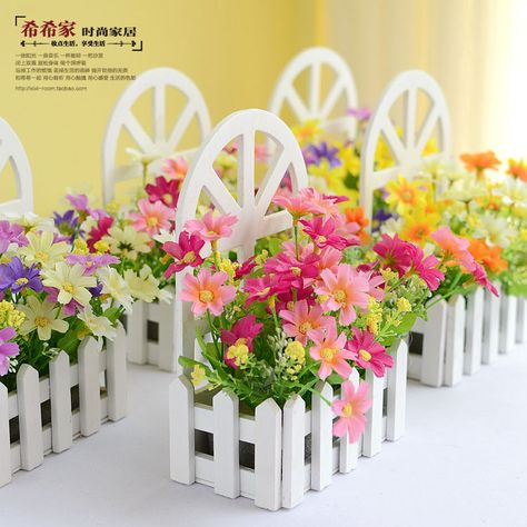 US $9.0 |Floace Wall Fence Kit Pastoral artificial flowers silk flowers  living room bedroom decor|artificial flowers silk flower|silk flowers|artificial flowers - AliExpress