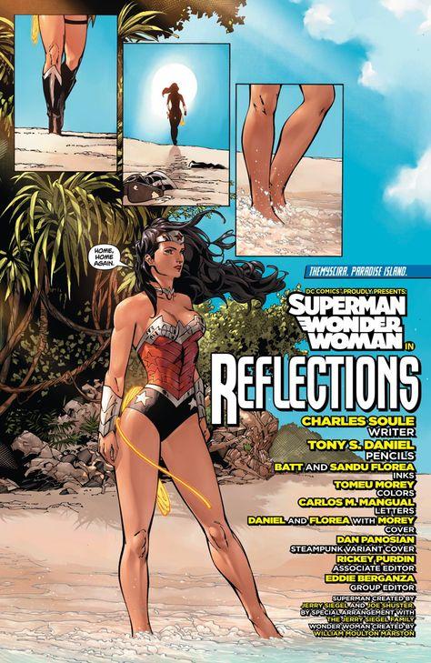 Superman & Wonder Woman by Charles Soule, Tony S Daniel, Matt Banning and Sandu Florea