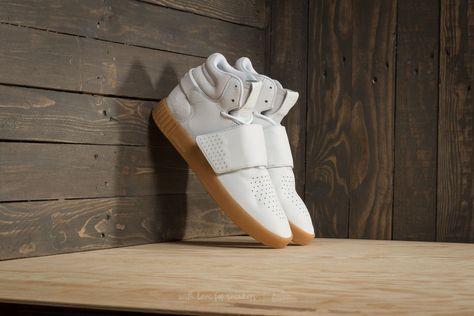 new concept sale online order adidas Tubular Invader Strap Footwear White/ Gum/ Core Black ...