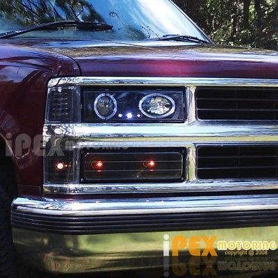 Picture 8 Of 11 Projector Headlights Led Halos Chevy Tahoe