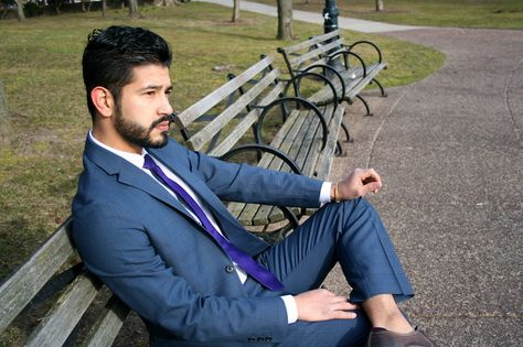 Eddie Rossetti: Menswear addict & fashion blogger, via the Official Pinterest Blog