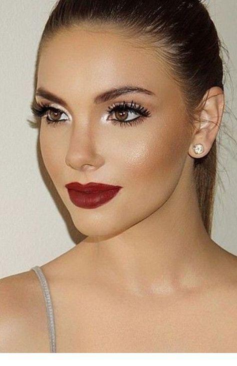 Those Red Lips Hair Makeup Beauty Makeup Eye Makeup