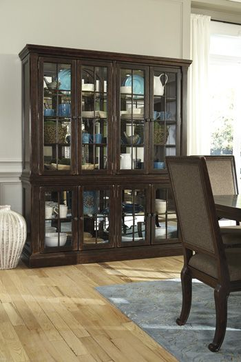 Roddington china hutch Ashley furniture | Furniture for our new ...