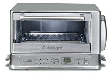 Cuisinart Tob 195 Exact Heat Toaster Oven Broiler Stainless Review Cuisinart Toaster Oven Toaster Oven Reviews Toaster Oven