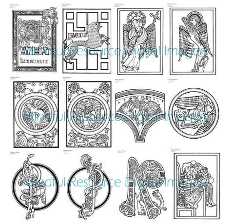 List of Pinterest book of kells coloring pages illuminated ...