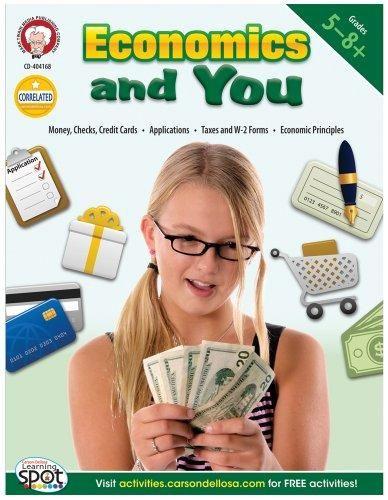 Mark Twain Media   Economics and You Resource Workbook   5th–8th Grade, 64pgs - Default