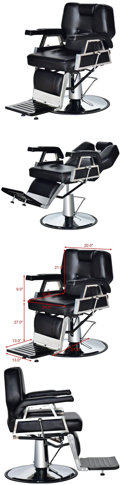 oukasfo chair ebay reclining salon hair of magnificent chairs