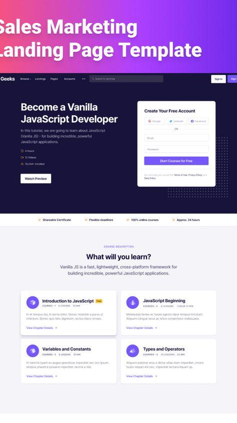 Geeks Bootstrap UI Kit & Admin Dashboard