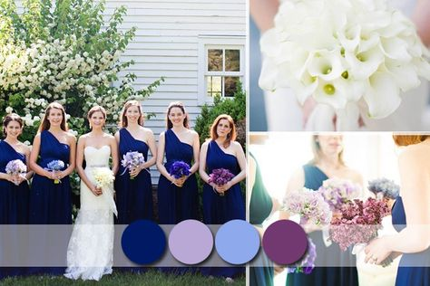 Popular Rustic Bridesmaid Dresses Colours For Your Country Weddings #royalblueweddingideas #bridesmaiddresses #tulleandchantilly