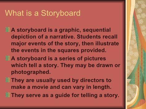 What is a Storyboard u003culu003eu003cliu003eA storyboard is a graphic, sequential - what is storyboard