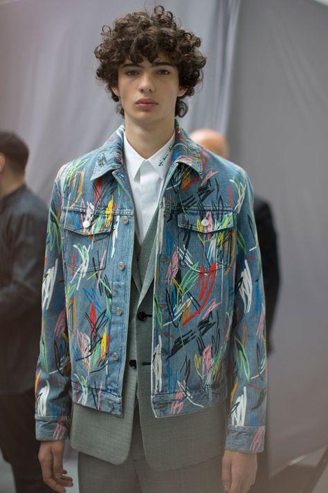 Dior Homme Fashion Show Details