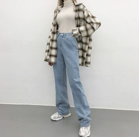 Calça jeans infantil flare Mish feminina