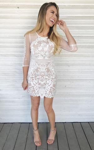 Arabella Ivory The Perfect Rehearsal Dinner Dress Perfect For A Bridal Shower Wedding Shower Dress Rehearsal Dinner Dresses Bachelorette Dress