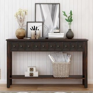 Online Shopping Bedding Furniture Electronics Jewelry Clothing More In 2020 Entryway Console Table Long Sofa Table Wood Furniture Living Room