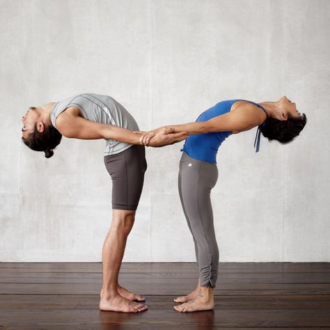 10 Ways To De Stress In 10 Minutes Couples Yoga Poses Couples Yoga Yoga Challenge Poses
