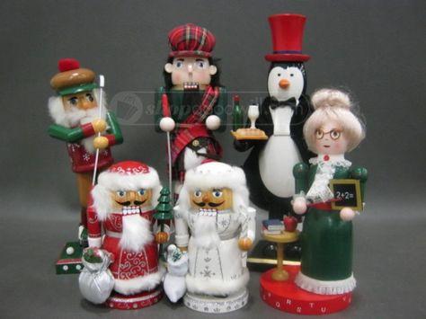 shopgoodwill.com: Lot of (6) Seasonal Nutcrackers