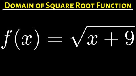 749c80c7c54d9ec063b1aa5e9cd11ef2 - How To Get The Domain Of A Square Root Function