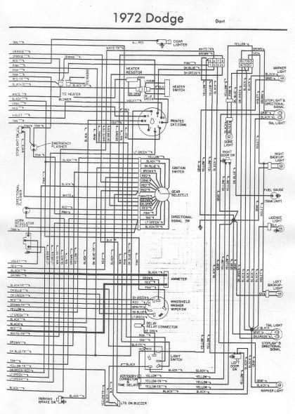 1974 Dodge Dart Wiring Diagram Schematic | schematic and ...