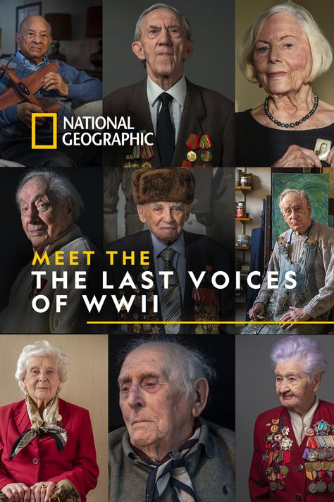 75 years after the end of WWII, we hear from those who lived it. Soldiers and survivors, code breakers and medics, Rosies and pilots, these are stories from humans on both sides of the war. Read stories of WWII from those who lived it. History Facts, World History, Real Hero, Military History, World War Two, National Geographic, Social Studies, American History, Wwii