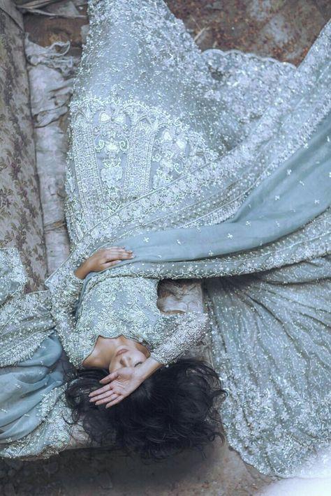 High Fashion Pakistan — Suffuse by Sana Yasir, Freesia Bridal Collection,. Pakistani Dresses, Indian Dresses, Indian Outfits, Pakistani Couture, Pakistani Clothing, Pakistani Bridal Dresses, Desi Wedding, Wedding Hijab, Wedding Blue