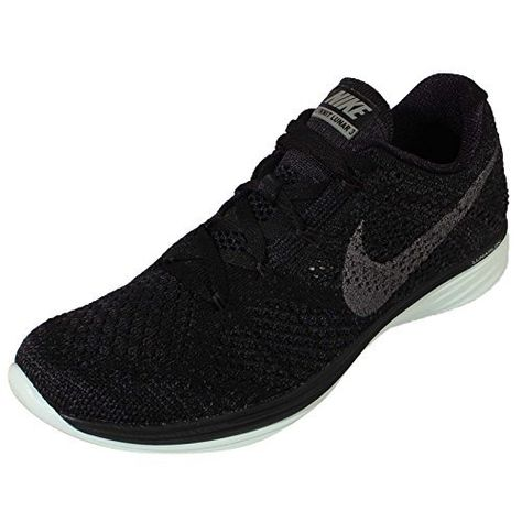 75551a95923 NIKE Womens Flyknit Lunar3 LB Running Trainers 826838 Sneakers Shoes US 6.5  Black Metallic Pewter Anthracite Volt 003   Visit the image link more  details.