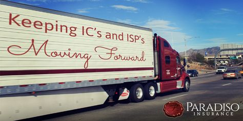 We Help Keep Independent Contractors And Isp S Moving Forward On