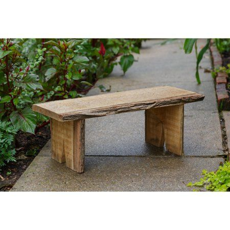 A L Furniture Blue Mountain Briar Patch Flower Pot Decorative Bench Unfinished Walmart Com Bench Decor Outdoor Bench Outdoor
