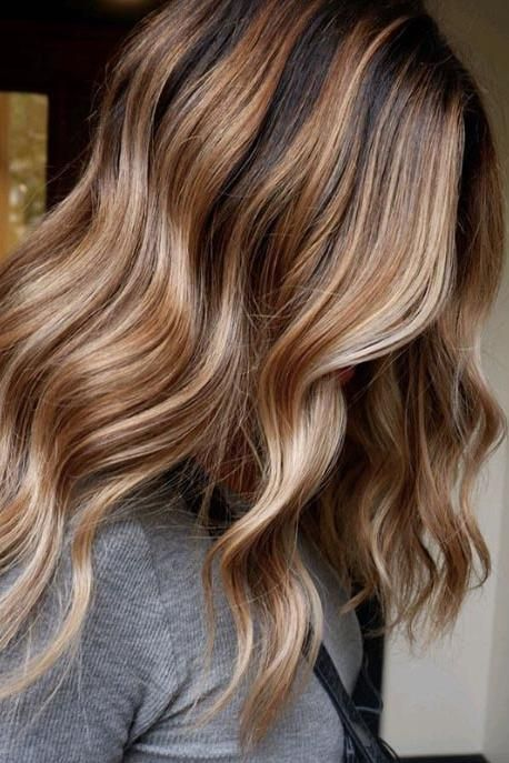 Sunlight Brunette Is The Most Low Maintenance Color For Summer Here Are 12 Pretty Examples To Show Your Stylist Hair Color Caramel Brunette Hair Color Blonde Hair Color